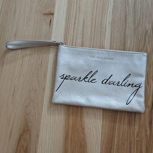 New York & Company Clutch Wristlet with zipper